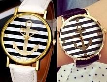 Co myślicie o zegarku w morskim stylu? :)