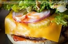 Hamburgery z serem ala Texas