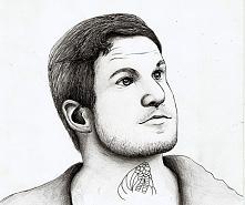 Andy Hurley proszę państwa :) Rysowałam Go na Jego urodziny które były 31 maj...