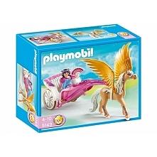 Po szkole zawsze można się czymś zająć:)  Playmobil 5143 Kareta pegaza zestaw...
