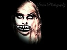 makijaż na halloween własnego pomysłu