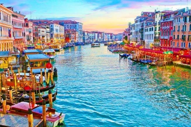 Grand Canal, Wenecja, Włochy.