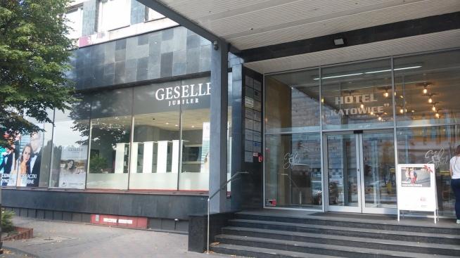 Nowy salon GESELLE Jubiler w Katowicach przy al. Korfantego 9 (Hotel Katowice). Serdecznie zapraszamy!