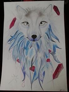Mój kolejny wilk ;) Co sądzicie?