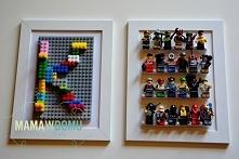 Plakaty Lego w 3D. Idealne ozdoby do pokoju dziecięcego. Więcej na mamawdomu.pl