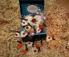 Śliczne pierniczki prezent idealny na komunie, urodziny, rocznicę, ślub, itp