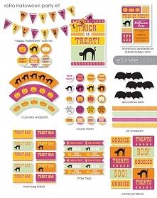 Naklejki, bannery i inne perdólki do wydrukowania na Halloween