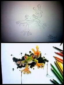 znana żabka w mojej wersji :-)