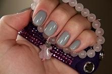 mój nowy mani hybrydowy. semilac - stylish gray
