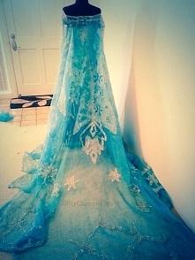 suknia Elsy w realu *-*