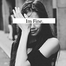 I'm fine. :'))  True.. Is good..  No. No is good.  Sorry.