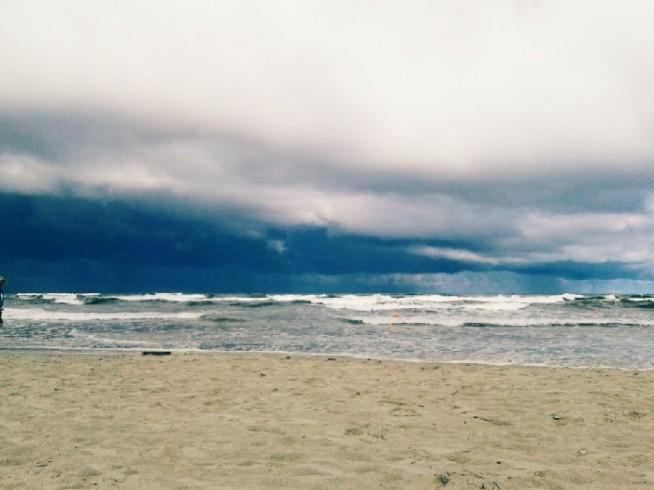 Dzisiejsze morze :) Kocham ♥