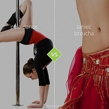 Pole dance ❤️ kontra ❤️ taniec brzucha!  Dwie bardzo seksowne formy tańca :)  ❤️ W pole dance głównym rekwizytem tancerski jest pionowa rurka, natomiast w tańcu brzucha są to...