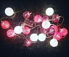 Lampki z biedronki