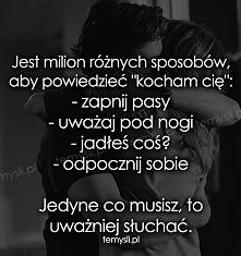 słuchaj uważanie! :)