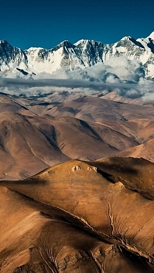 Tibet's Mountain Scenery