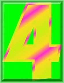 Numerologia - liczba cztery - sprawdź na blogu co to oznacza...