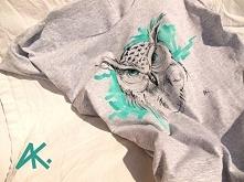 Ręcznie malowane koszulki Na fb - AK Pracownia rękodzieła artystycznego