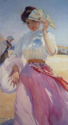 Sługa Kąpielowa  Autor: Barrau Buñol, Laureà (1863 - 1957)     Technika / mat...
