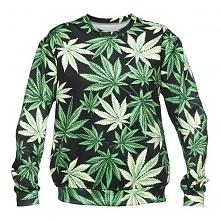 Bluza Fullprint BlackWeed. Najmodniejszy wzór tego sezonu, luźna i stylowa! :)
