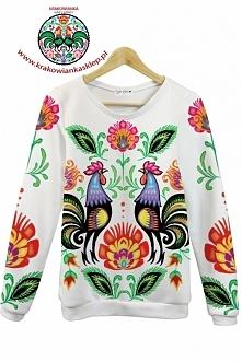 folk bluza