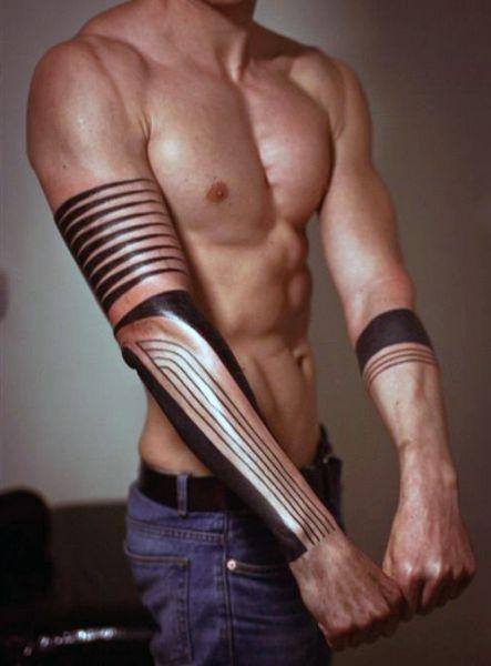 Tatuaże Męskie Na Ręce Na Tatuaże Zszywkapl