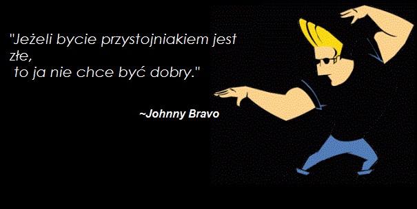 Johnny Bravo Na Kreskowki Zszywka Pl