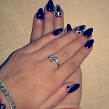 #nails #blackandwhite #beautifull