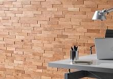 Panel drewniany - Natural Wood Panels - Dąb Cegiełka Rustykal 3D