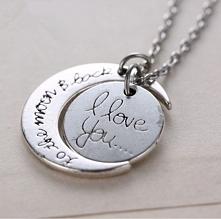 'I love you to the moon and back' - zawieszka (40 zł) Jeśli jesteście zainteresowani zakupem, piszcie na dream.magasin@gmail.com. Zapraszam do obejrzenia innych artyku...