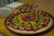 Owocowa pizza :) Zobacz przepis --->