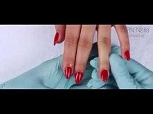 SPN Nails - Love Me! Manicure hybrydowy na paznokciu akrylowym :-)