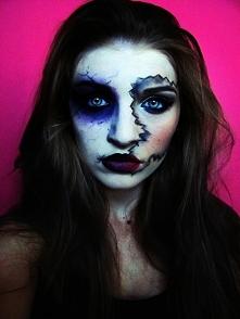 propozycja makijażu na Halloween