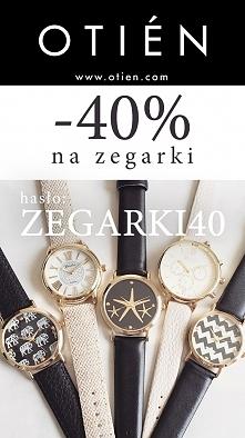 -40% dziś na wszystkie zegarki! w sklepie OTIEN