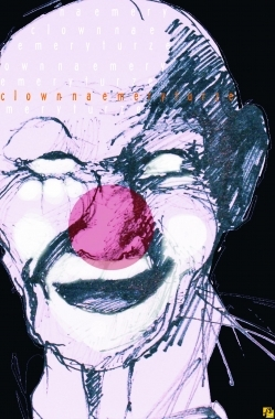 Plakat: Clown na emeryturze