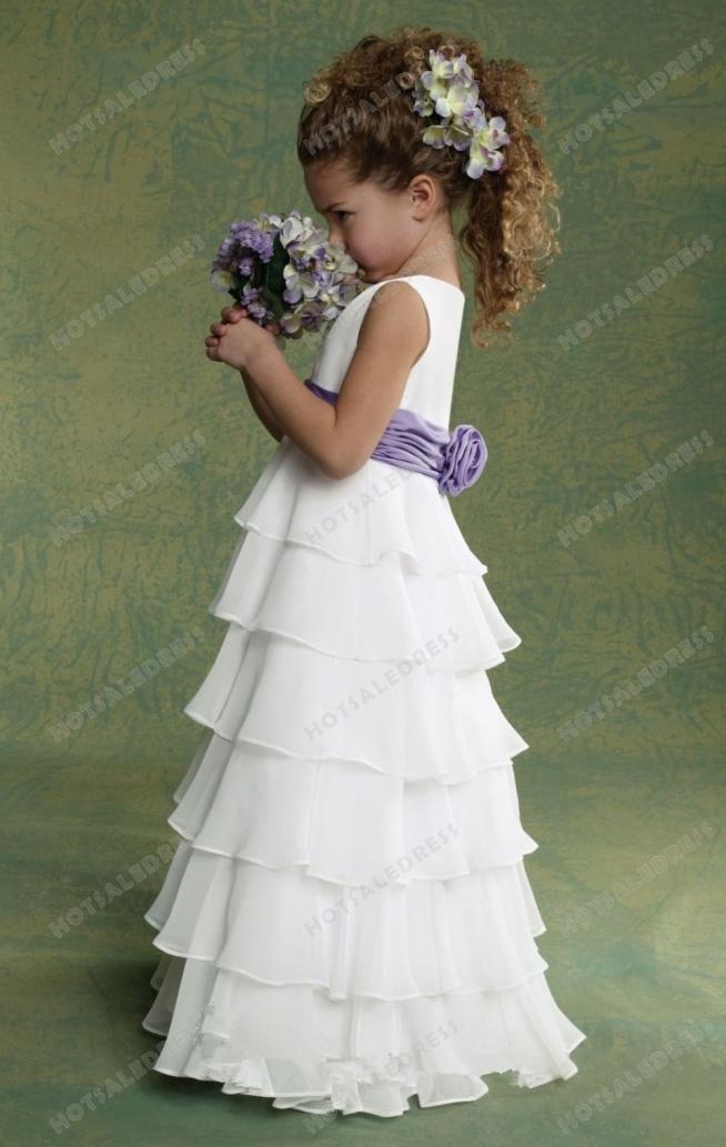 Chiffon Dress By Jordan Sweet Beginnings Collection L503