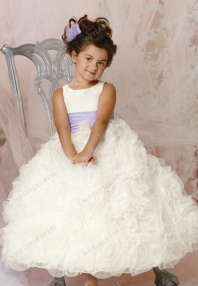 Rosette Skirt Gown By Jordan Sweet Beginnings Collection L294