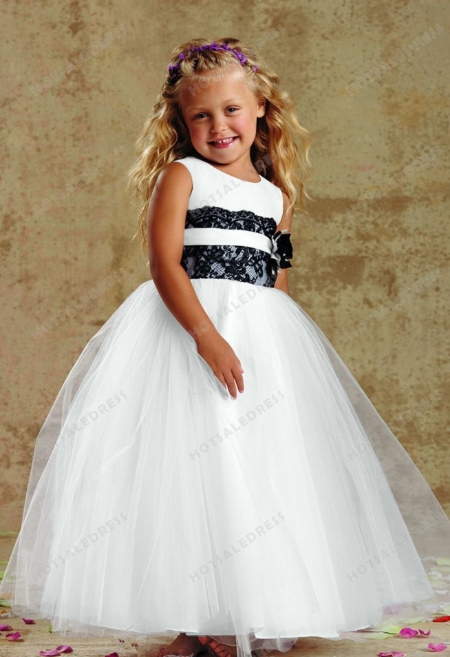 Satin Lace Gown By Jordan Sweet Beginnings Collection L964