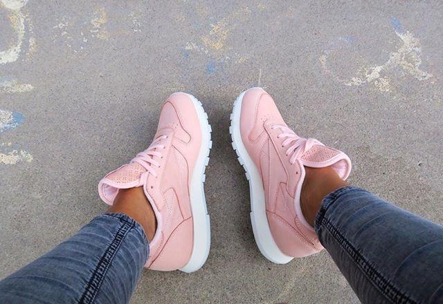 adidas zx flux damskie pudrowy roz