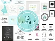 FREE PRINTABLES! 5 miejsc gdzie znajdziecie gotowe plakaty do wydruku:) Moja lista TOP 5 blogów, gdzie pełno inspiracji, talentu i grafiki. Zapraszam