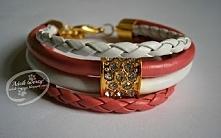 Mały przegląd ręcznie tworzonej biżuterii w barwach różu.  Wejdźcie i same si...