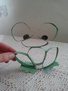 Żaba z rolki