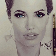 Przepiękna Angelina Jolie  by @ruslan_mustapaev_
