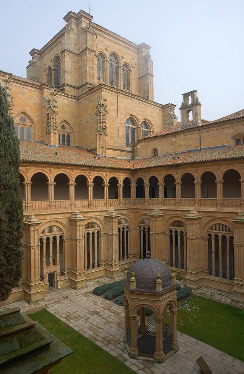 Convento de San Esteban (klasztor dominikanów) , Salamanca, Hiszpania