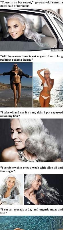 59-letnia modelka, wow