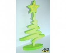 Choinka XPS (Dekoracje Świąteczne) Materiał - pianka xps  grubość - 2 cm  kol...