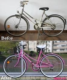 Metamorfoza roweru / metamorphosis bike - Tutorial twojediy.pl