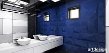 granatowa łazienka | ARTDESIGN PERFORMANCE