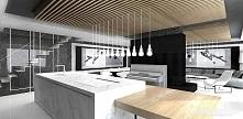 nowoczesna kuchnia - projekt wnętrza | ARTDESIGN PERFORMANCE