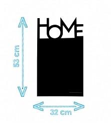 """Tablica kredowa """"HOME"""" w nowoczesnym klimacie. Idealna na prezent c..."""